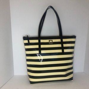 Kate Spade New York Black & Cream Tote Bag